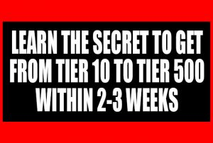 Learn to get to tier 500 within 2 3 weeks ebook merch complete new to merch by amazon stuck in tier 1025 sick of seeing the tier 500 sellers and upwards cleaning up all the sales fandeluxe Ebook collections